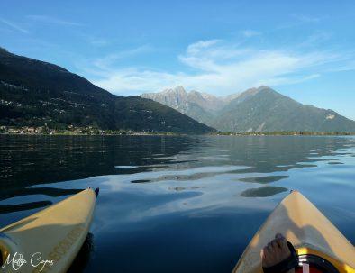 Canoa sul Lago di Como