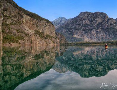 Canoa nella Riserva Naturale del Pian di Spagna